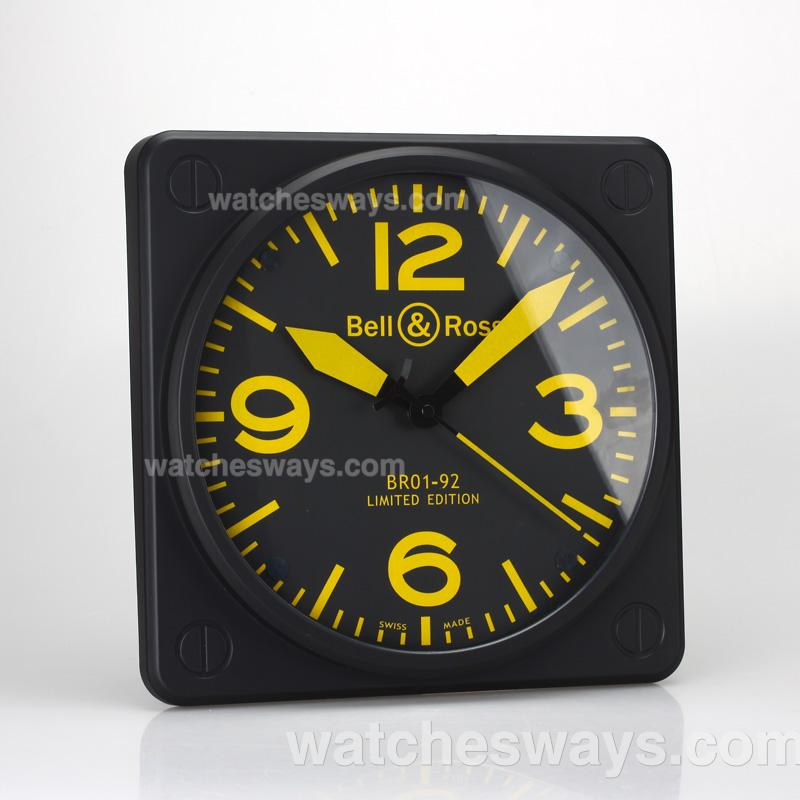 Replik Bell & Ross BR01-92 Limited Edition with Black Dial Green Markers-38x38MM 129478