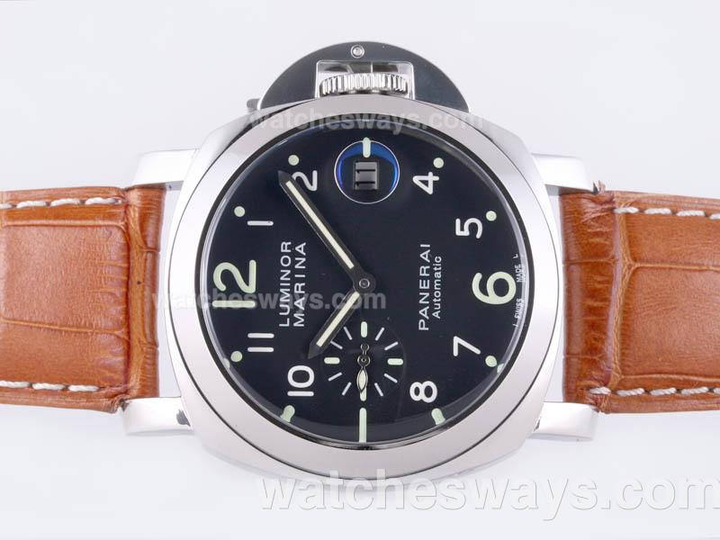 Réplique Panerai Luminor Montre Marina Automatique Avec 18K Mouvement En Or - Nouvelle Version 23310