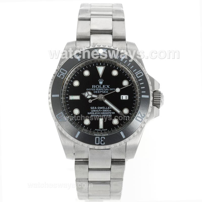 Replik Rolex Sea Dweller Automatic Ceramic Bezel with Black Dial S/S-1 114876