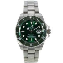 Replique Rolex Submariner automatique avec cadran vert S / S-Vert lunette en céramique - Attractive montre Rolex Submariner 25041 pour vous