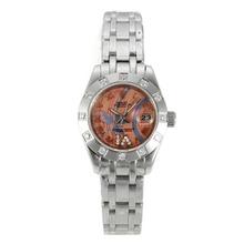 Replique Rolex Masterpiece automatique Diamond Bezel avec cadran S / S-verre de saphir rose - Montre Rolex Masterpiece attrayant pour vous 24448