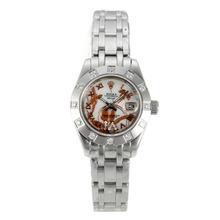 Replique Rolex Masterpiece automatique Diamond Bezel Dial avec MOP S / S-fleurs Illustration - Belle Montre Rolex Masterpiece pour vous 24447