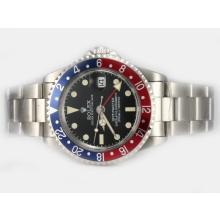 Replique Rolex GMT-Master automatique de travail GMT-Vintage Edition - Attractive Rolex GMT Regarder pour vous 24416