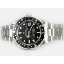 Replik Rolex GMT-Master Automatic Working GMT Black-Vintage Edition – Attractive Rolex GMT Watch for You 24414