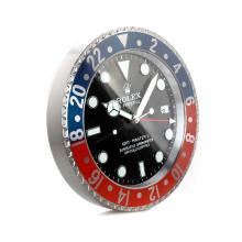 Replique Rolex GMT-Master II Bleu / Rouge Horloge murale lunette avec cadran noir - Attractive Rolex GMT Regarder pour vous 24234