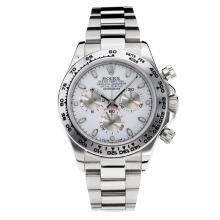 Replique Rolex Oyster Perpetual Swiss Valjoux 7750 Mouvement avec cadran blanc lumineux savoir S / S-verre de saphir - Attractive autres Rolex Regarder pour vous 24878