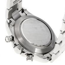 Replique Rolex Oyster Perpetual Swiss Valjoux 7750 Mouvement avec cadran noir super lumineuse S / S-verre de saphir - Attractive autres Rolex Regarder pour vous 24876