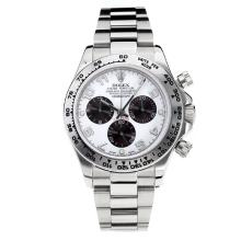 Replique Rolex Oyster Perpetual Swiss Valjoux 7750 Mouvement avec cadran blanc lumineux savoir S / S-verre de saphir - Attractive autres Rolex Regarder pour vous 24875