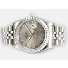 Replique Rolex Datejust automatique avec cadran gris - Attractive montre Rolex DateJust pour vous 21909