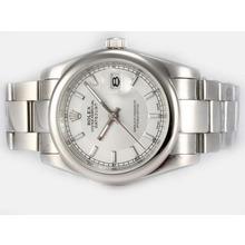 Replique Rolex Datejust automatique avec cadran blanc - Attractive montre Rolex DateJust pour vous 21906
