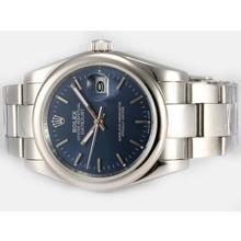 Replique Rolex Datejust automatique avec cadran bleu - Attractive montre Rolex DateJust pour vous 21905