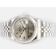 Replique Rolex Datejust automatique avec cadran gris - Attractive montre Rolex DateJust pour vous 21904