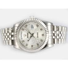 Replique Rolex Day-Date diamant marquage automatique avec cadran ordinateur - Attractive montre Rolex Day Date 22602 pour vous