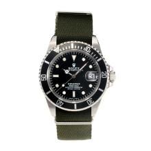 Replique Rolex Submariner suisse ETA 2783 Mouvement Automatique Lunette noire avec cadran noir - Attractive montre Rolex Submariner 24967 pour vous