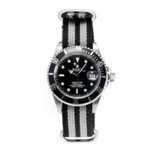 Replique Rolex Submariner suisse ETA 2783 Mouvement Automatique Lunette noire avec cadran noir - Attractive montre Rolex Submariner 24964 pour vous