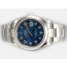 Replique Rolex Datejust automatique avec cadran bleu-2008 Numéro Nouvelle version de marquage - Attractive montre Rolex DateJust pour vous 21869