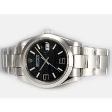 Replique Rolex Datejust automatique 2008 Montres design Insignia Cadran Noir - Attractive montre Rolex DateJust pour vous 21868