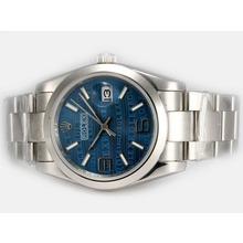 Replique Rolex Datejust automatique 2008 Montres design Insignia Blue Dial - Attractive montre Rolex DateJust pour vous 21866