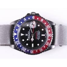 Replique Rolex GMT-Mater II Swiss ETA 2836 Mouvement PVD Case-Pro Hunter Special Edition - Attractive Rolex GMT Regarder pour vous 24381