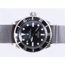 Replique Rolex Submariner Ref.5517 Editiont Vintage avec sangle en nylon gris - Attractive montre Rolex Submariner 25186 pour vous