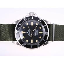 Replique Rolex Submariner Comex Vintage Edition avec sangle en nylon vert - Attractive montre Rolex Submariner 25185 pour vous