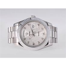 Replique Rolex Day-Date II automatique avec diamant Marquage Computer Dial-41mm nouvelle version - Attractive Rolex Day Date II Montre pour vous 23013
