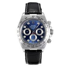 Replique Rolex Daytona automatique avec Blue Dail-Diamant Marquage - Attractive Rolex Daytona Montre pour vous 23922