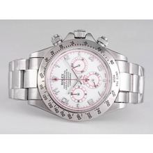 Replique Rolex Daytona-Chronographe Cadran Blanc - Nouvelle version - Attractive Rolex Daytona Montre pour vous 23884