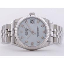 Replique Rolex Datejust Swiss ETA 2836 Mouvement avec cadran bleu-Mid Size - Belle Montre Rolex DateJust pour vous 21274