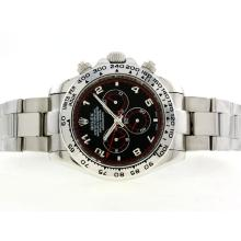 Replik Rolex Daytona II Automatic with Black Dial-Number Marking 42mm Version 24183