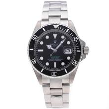 Replique Rolex Submariner automatique avec cadran noir-vert Édition des marqueurs SUB - Attractive montre Rolex Submariner 25171 pour vous