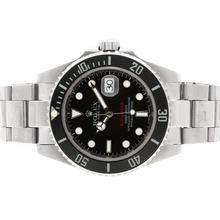 Replique Rolex Submariner automatique avec des marqueurs SOUS-Rouge Lunette Céramique - Attractive montre Rolex Submariner 25167 pour vous