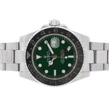 Replique Rolex GMT-Master II automatique avec cadran vert-noir lunette en céramique - Attractive Rolex GMT Regarder pour vous 24353