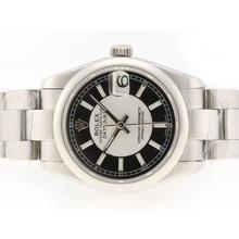 Replique Rolex Datejust Swiss ETA 2836 Mouvement avec cadran noir-Stick Marquage - Attractive montre Rolex DateJust pour vous 20743