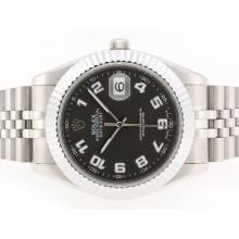 Replique Rolex Datejust II Swiss ETA 2836 Mouvement avec marqueurs Nombre cadran gris-41mm - Version attrayant Rolex Datejust II montre pour vous 22251