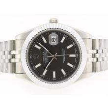 Replique Rolex Datejust II Swiss ETA 2836 Mouvement marqueurs de bâton avec cadran gris-41mm - Version attrayant Rolex Datejust II montre pour vous 22248
