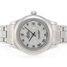 Replique Rolex Masterpiece Swiss ETA 2836 Mouvement avec cadran romain Marquage MOP - Attractive montre Rolex Masterpiece pour vous 24606