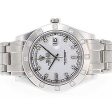 Replique Rolex Masterpiece suisse ETA Mouvement Diamant 2836 Marquage Cadran Blanc - Attractive montre Rolex Masterpiece pour vous 24578