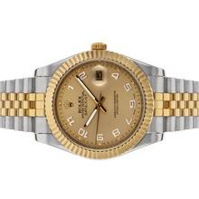 Replique Rolex Datejust II automatique deux marqueurs numéro de sonorité avec cadran or - Belle Rolex Datejust II montre pour vous 22190