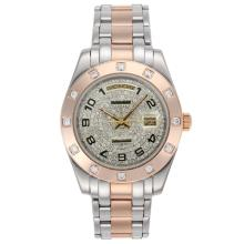 Replik Rolex Masterpiece II Automatic Two Tone with Diamond Bezel and Dial - Number Markers 24756