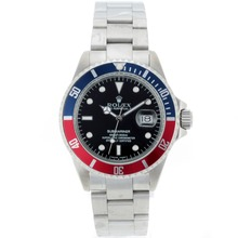 Replik Rolex Submariner Automatic Blue/Red Bezel with Black Dial – Attractive Rolex Submariner Watch for You 25064