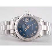 Replique Rolex Datejust eta suisse 2836 plein mouvement or rose avec ratissage de taille moyenne ou composez 9727