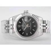 Replique Rolex Datejust eta suisse 2836 Mouvement cadran blanc-adhésive de marquage 10350