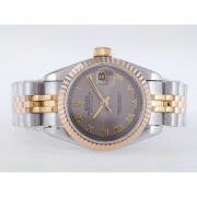 Replique Rolex Datejust eta suisse 2671 le mouvement avec une vadrouille dial-clé de marquage taille dame 10485