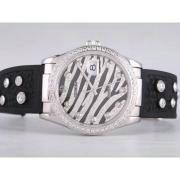 Replique Rolex Datejust eta suisse 2671 le mouvement à deux tons avec cadran blanc numéro de marquage taille dame 10505