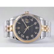 Replique Rolex Datejust eta suisse 2836 le mouvement avec une vadrouille dial-clé de marquage 10852