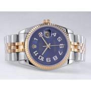 Replique Rolex Datejust eta suisse 2836 Mouvement cadran blanc numéro de marquage 10847