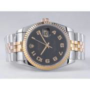 Replique Rolex Datejust eta suisse 2836 Mouvement cadran blanc-adhésive de marquage 10850
