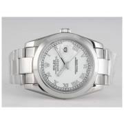 Replique Rolex Datejust eta suisse 2836 le mouvement à deux tons avec dial-number/stick marque blanche 10931