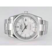 Replique Rolex Datejust eta suisse 2836 Mouvement de diamants en or-royal noir diamant lunette cadran aigrettes 11177